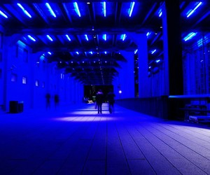 blue, light, and aesthetic image