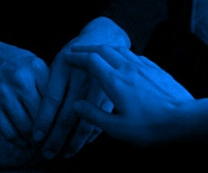 hands, grunge, and couple image