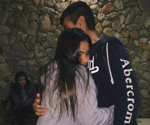 hug and cute image