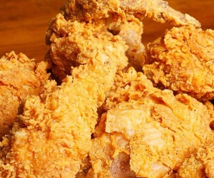 fast food, fried chicken, and yummy image