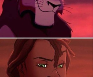 disney, lion king, and cartoon image