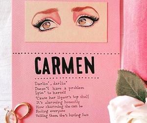 aesthetic, art, and Carmen image