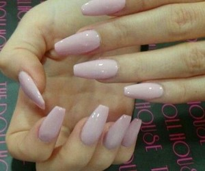 acrylic, beauty, and nails image