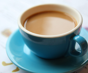 blue, te, and coffe image