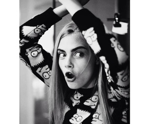 funny, girl, and cara delevingne image