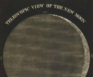 astronomy, moon, and nasa image