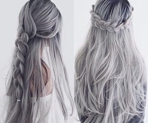 nice, hairstyle, and gray image