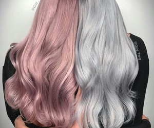 colors, hairstyle, and friends image