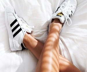 addidas and white image