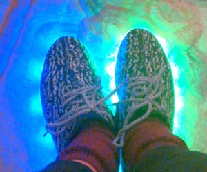 aesthetic, shoes, and light up shoes image