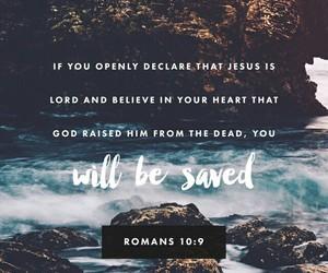believe, saved, and jesus image