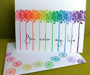beautiful, card, and colors image