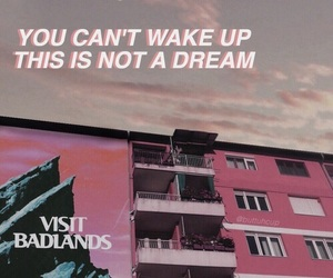 badlands, halsey, and quote image