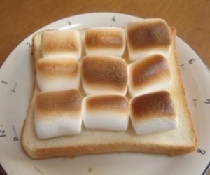 food, beige, and marshmallow image