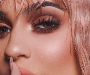 kylie jenner, makeup, and kylie image