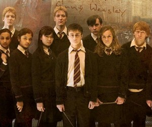 dumbledore's army, neville longbottom, and parvati patil image