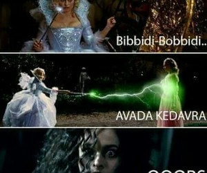 harry potter, bellatrix, and cinderella image