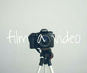 bucket, camera, and film image