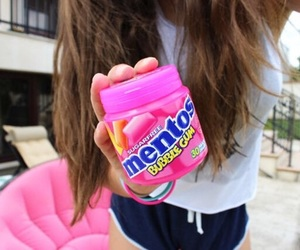 mentos, quality, and pink image