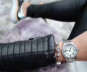 accessories, black, and leather image