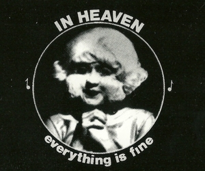 eraserhead, black and white, and heaven image