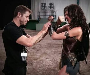 wonder woman, batman v superman, and gal gadot image