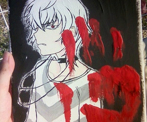 accelerator, anime, and art image