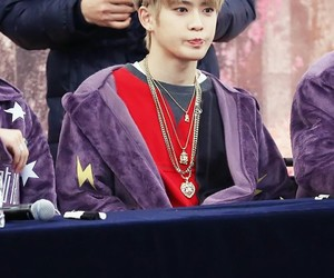 blonde, handsome, and kpop image