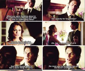 damon, sybil, and the simple intimacy image