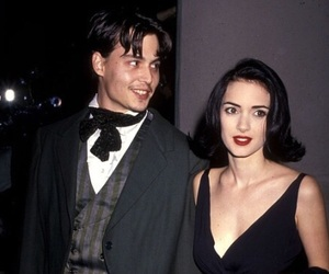 couple, johnny deep, and cute image