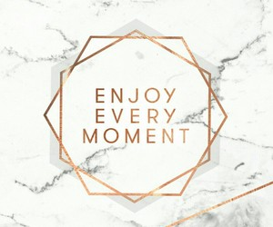 enjoy, marble, and wallpaper image