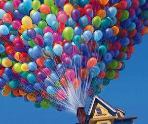 dessin animÉ, là haut, and balons image