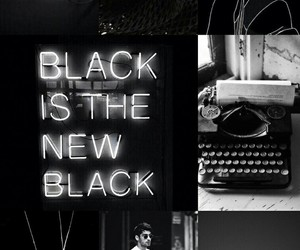 aesthetic, black, and black and white image
