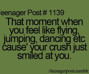 crush, funny, and dancing image