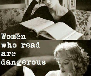 books, danger, and girls image