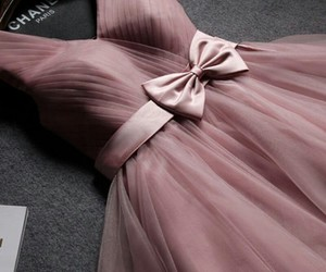 dress, chanel, and pink image