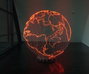 world and lights image