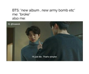kpop, bts, and memes image