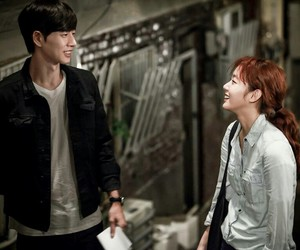 couple, cheese in the trap, and yoo jung image