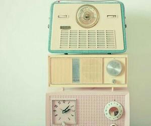 radio, vintage, and pastel image