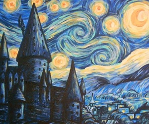 art, beautiful, and van gogh image