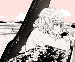 anime girl, manga, and anime image