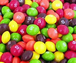 skittles, sweet, and candy image