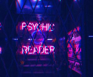 neon, grunge, and purple image