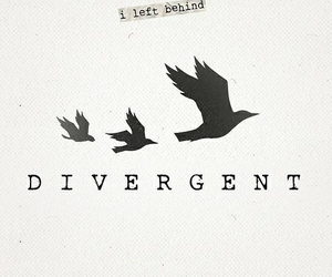 divergent, tris, and book image