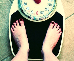 anorexia, barefoot, and diet image