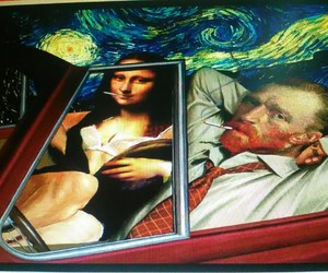 art, bitch, and gogh image