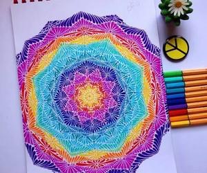 mandala and doodle image