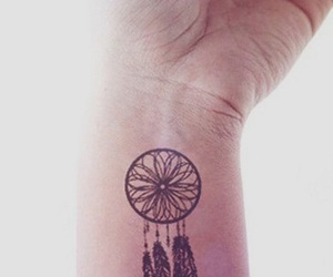 tattoo and dream catcher image
