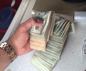 money, ghetto, and cash image
